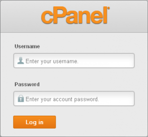 cpanel-login-screen