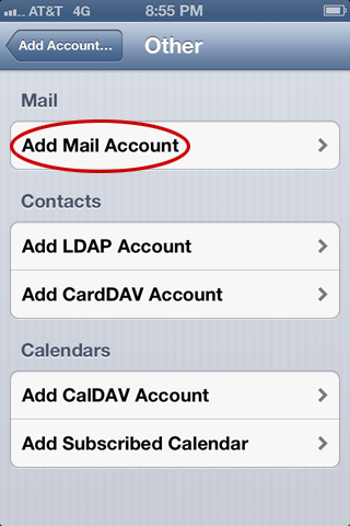 how to set up mulitple emails on iphone